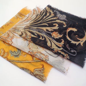Vintage Handkerchiefs Set of 3 Printed